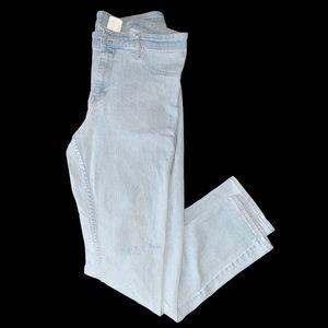 H&M Light Blue Skinny Regular Waist Denim Jeans